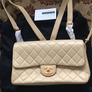 Authentic Chanel mini backpack